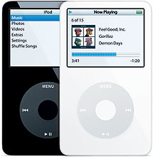 Apple iPod 5th Gen (with Video) 30 GB, 60 GB - MA002LL/A