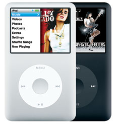 Apple iPod classic (Late 2008/7th Gen) 120 GB, 160 GB - MB562LL/A