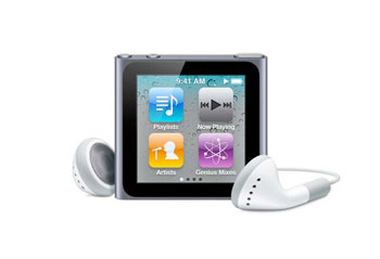 Apple iPod nano (6th Gen/Multitouch) 8 GB, 16 GB - MC525LL/A