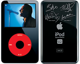 Apple iPod U2 Edition 5th Gen Enhanced 30 GB - MA664LL/A