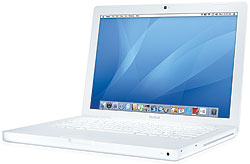 Apple MacBook Core 2 Duo 2.0 13-Inch (White-SR) - MB061LL/B