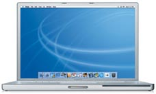 Apple PowerBook G4 1.67 17-Inch (DLSD/HR - Al) - M9970LL/A